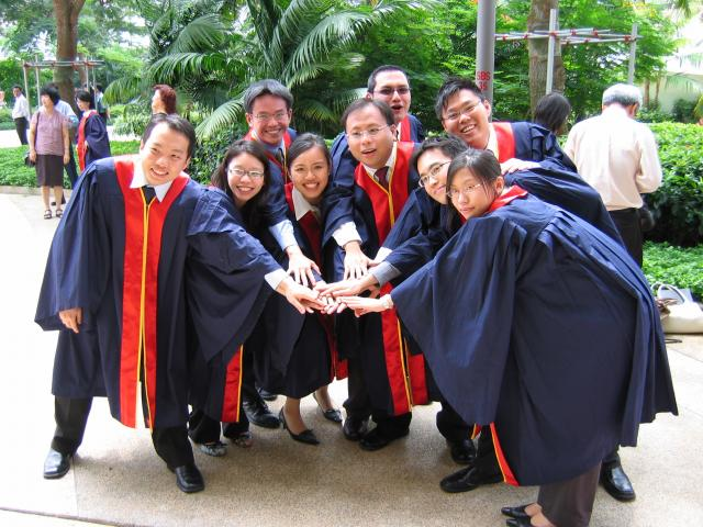 The bunch of us PGDE (sec) 2005